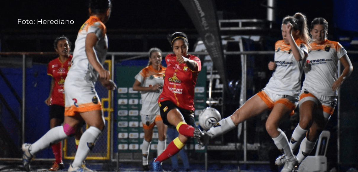 Herediano sigue sólido en el fútbol femenino