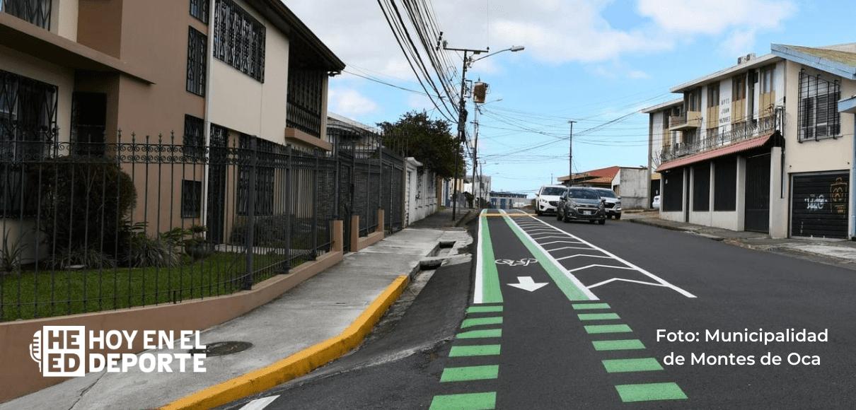 Inauguran ciclovía entre Montes de Oca y Curridabat