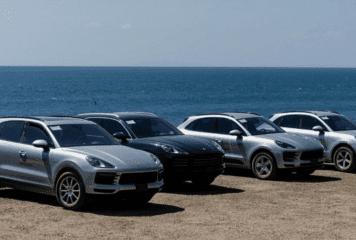 Macan y Cayenne de Porsche a la conquista del relieve tico