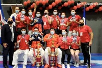 Costa Rica finaliza tercero el Campeonato Centroamericano de Karate