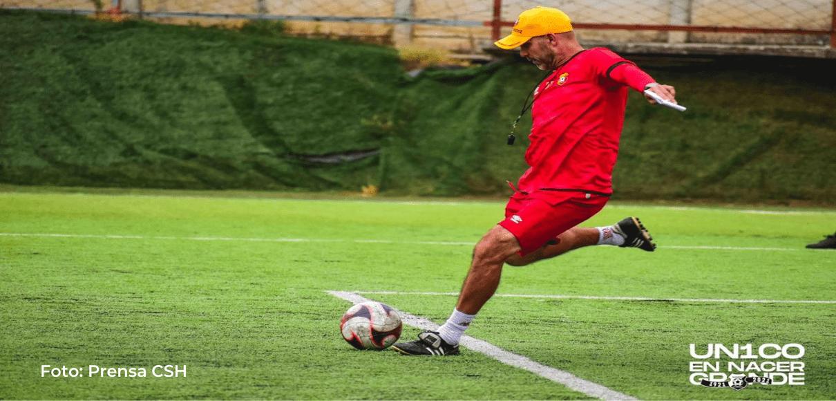 Luis Marín alabó jugadores Heredianos tras derrota con Saprissa