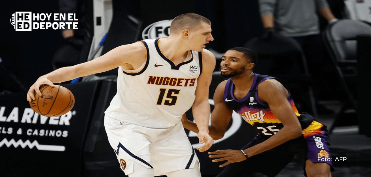 Con Jokic expulsado, los Nuggets son barridos por los Suns de Chris Paul