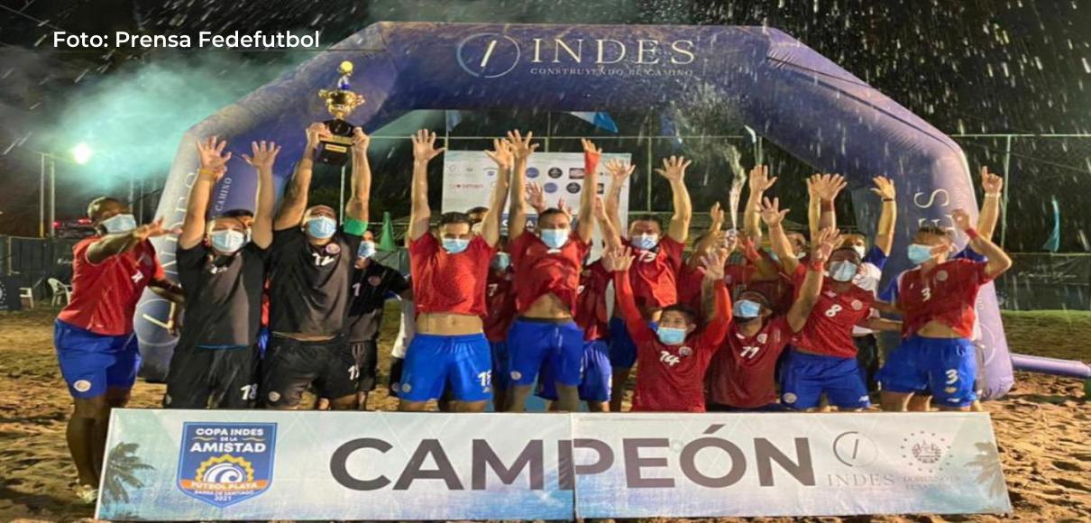 Fútbol playa: Costa Rica perdió con Suiza 3-4 en juego de fogueo