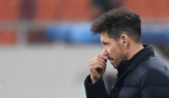 """""""Nos jugamos mucho en cada partido"""", dice Simeone antes del derbi"""