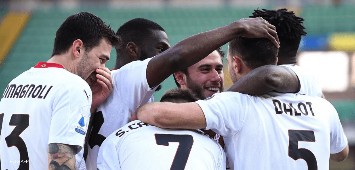 AC Milan doblega a Hellas Verona y presiona a Inter