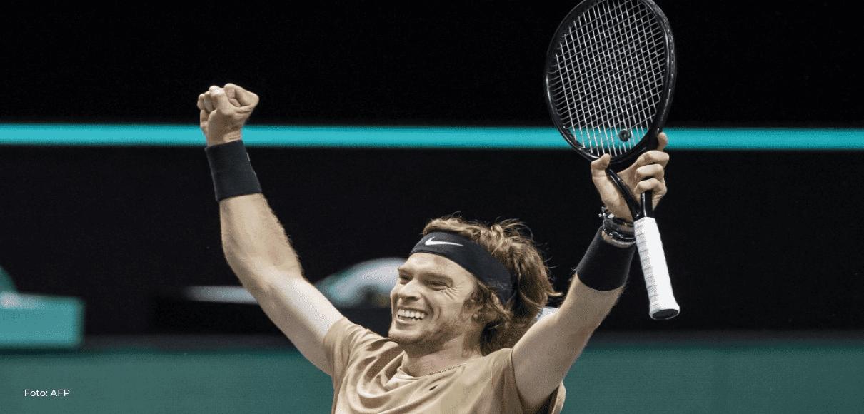 Rublev suma en Róterdam un cuarto título consecutivo en un ATP 500