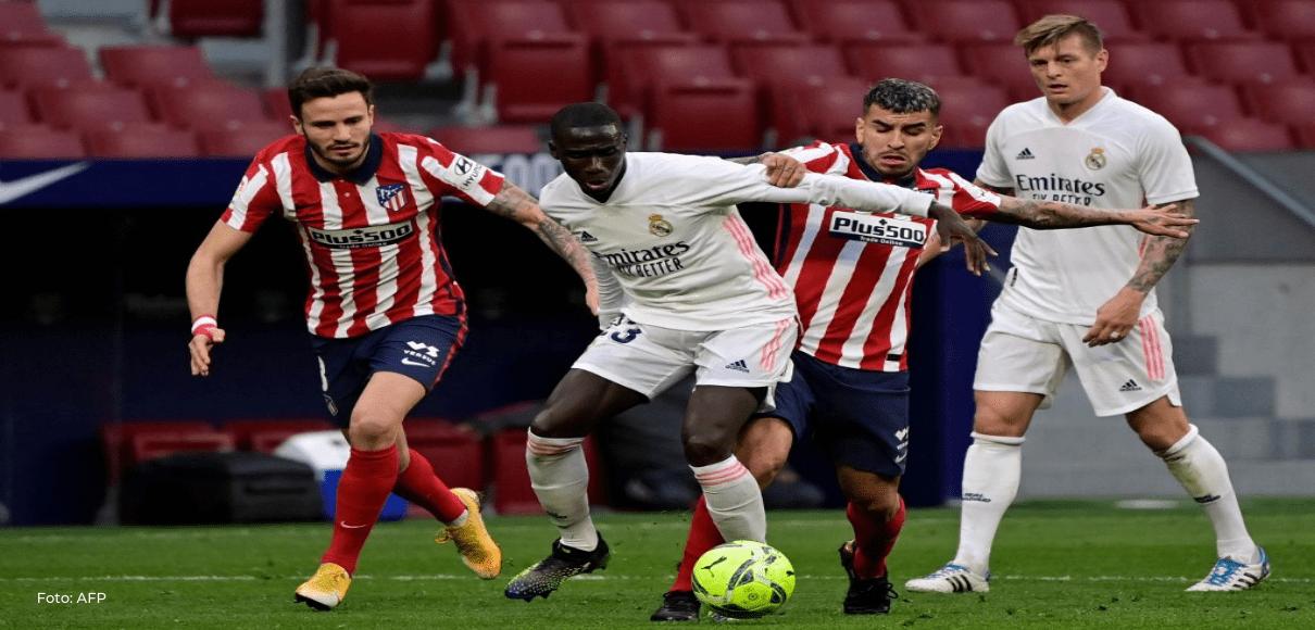El Real Madrid rescata un punto contra el Atlético, pero es más tercero
