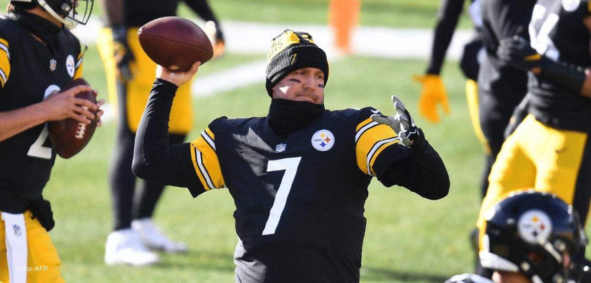 Los Steelers de la NFL renuevan al veterano Ben Roethlisberger