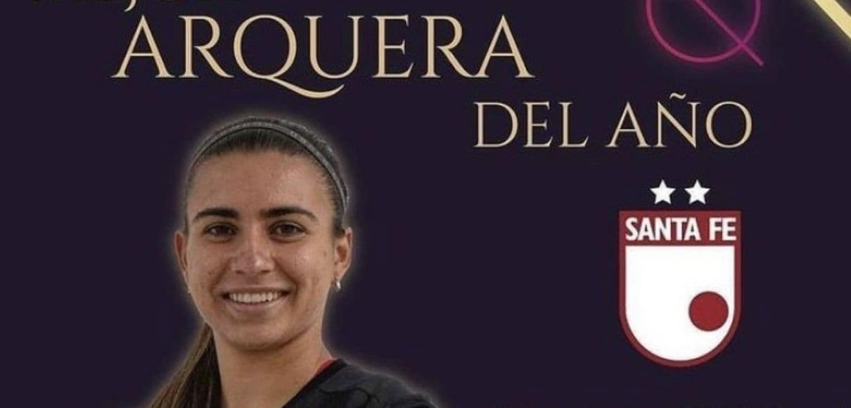 Tica es elegida como mejor portera de Liga Colombiana