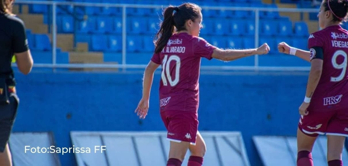 Saprissa FF goleó 5-1 al Municipal Pococí