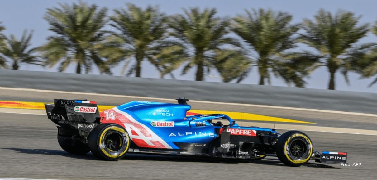 Un envoltorio de un bocadillo fue la causa del abandono de Fernando Alonso