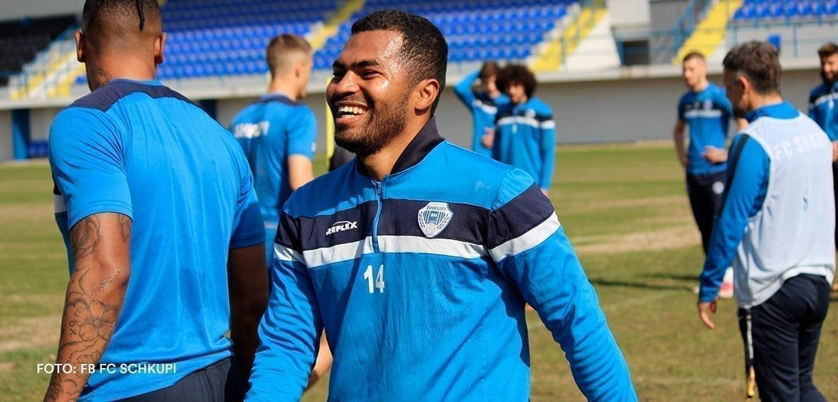 Freddy Álvarez anotó gol del gane del FK Shkupi