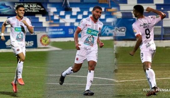 Marcel, Venegas y Martínez suman más goles que 9 clubes del torneo