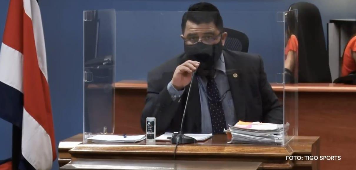 Jueces solicitaron copia del contrato de Pinto a la Fedefutbol