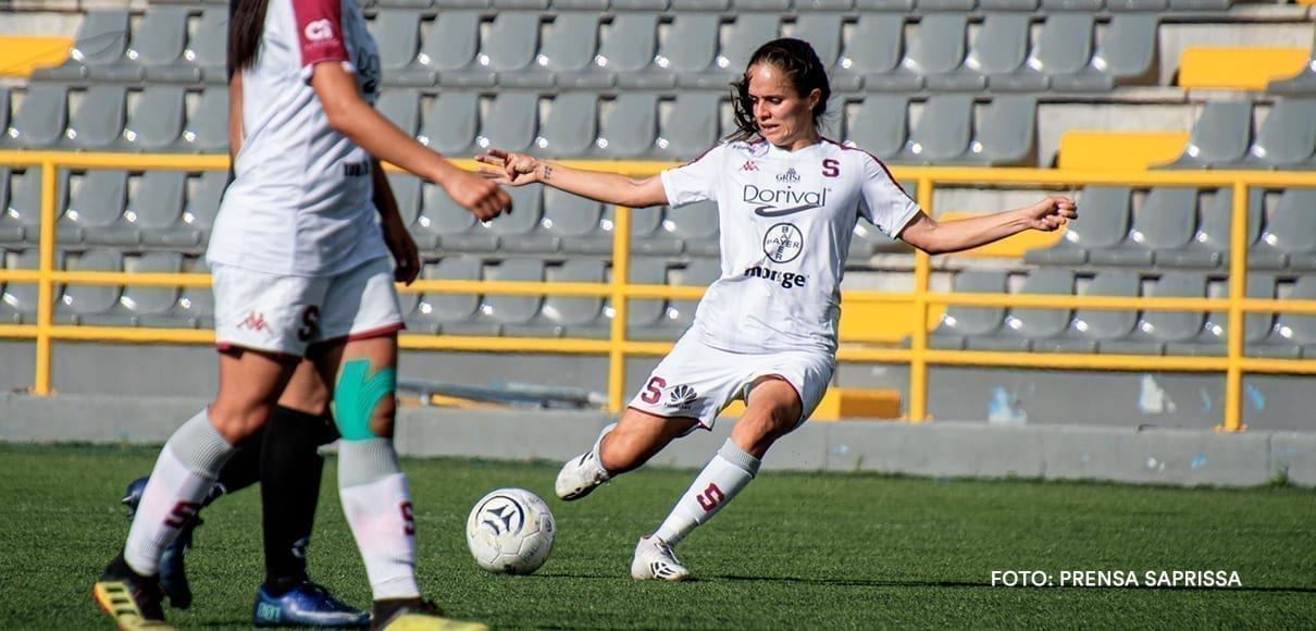 Katherine Alvarado salvó al Saprissa ante Sporting (VIDEO)