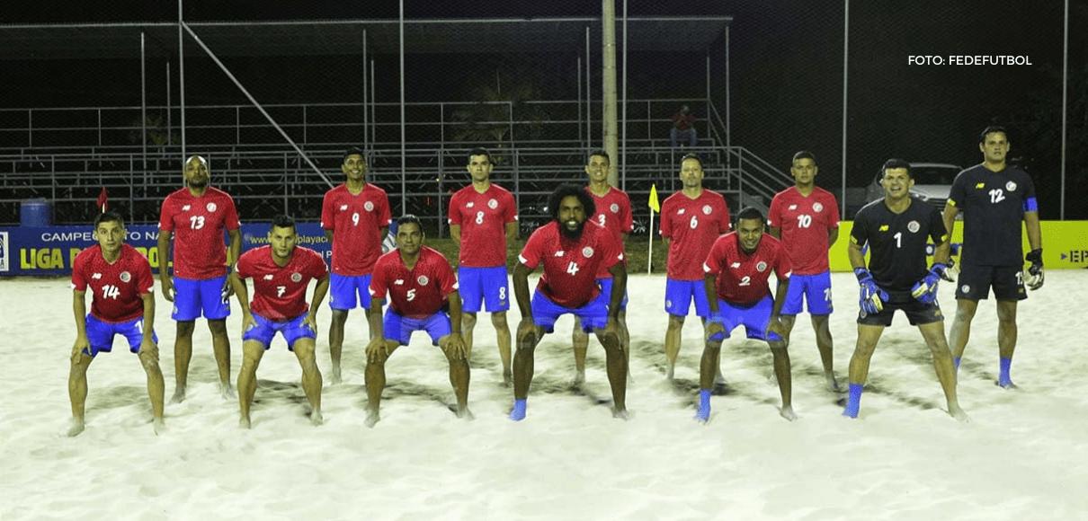 Costa Rica será sede el Premundial Fútbol Playa de Concacaf