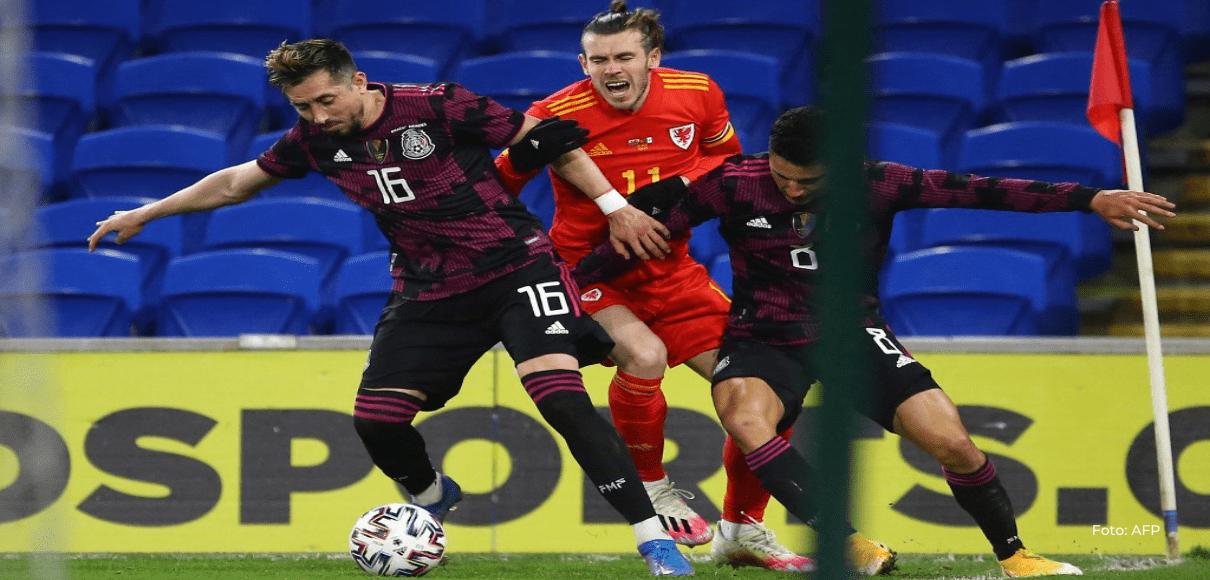 México cae 1-0 con Gales en partido amistoso