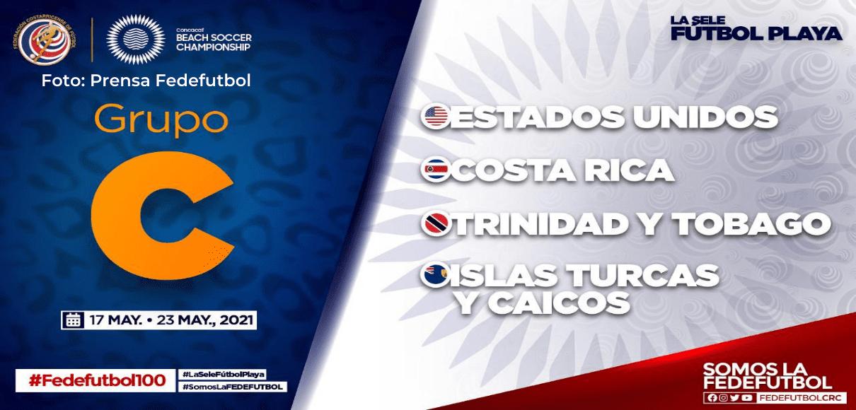La Sele de Playa ya tiene rivales para Premundial de la CONCACAF