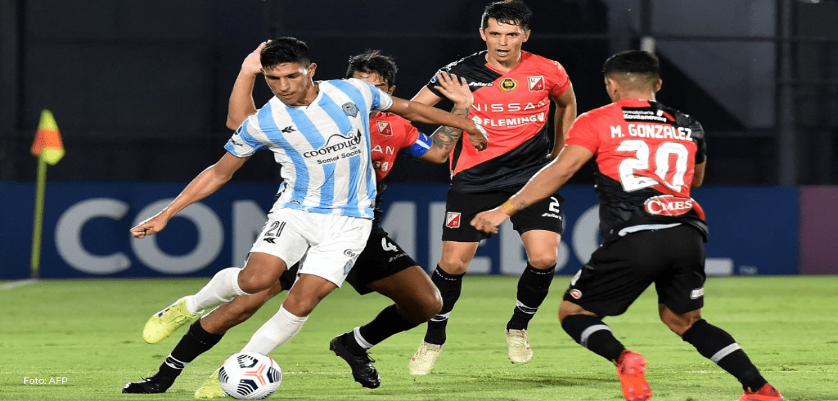 Ficha técnica del partido Guaireña-River Plate por Copa Sudamericana-2021