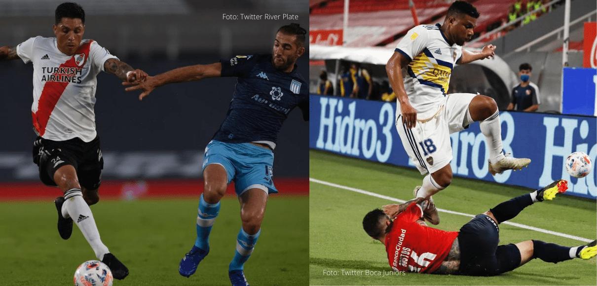 Domingo de clásicos en el fútbol argentino