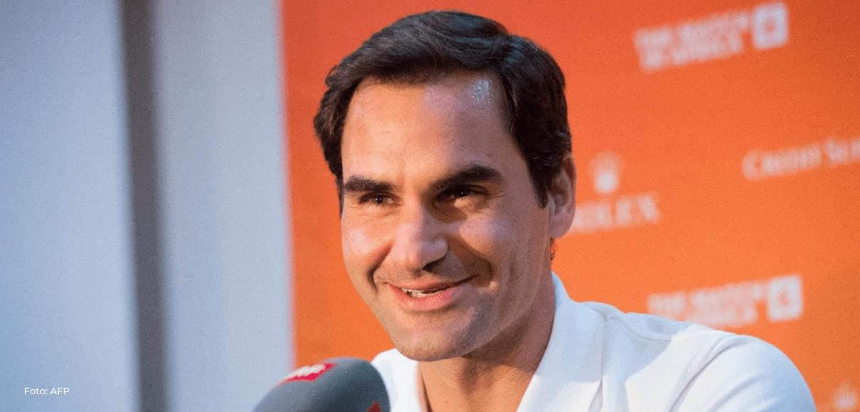 """""""La retirada nunca fue una opción"""", asegura Federer"""