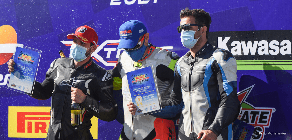 Iván Sala y Juan José Lara se imponen en la primera fecha de la Motovelocidad