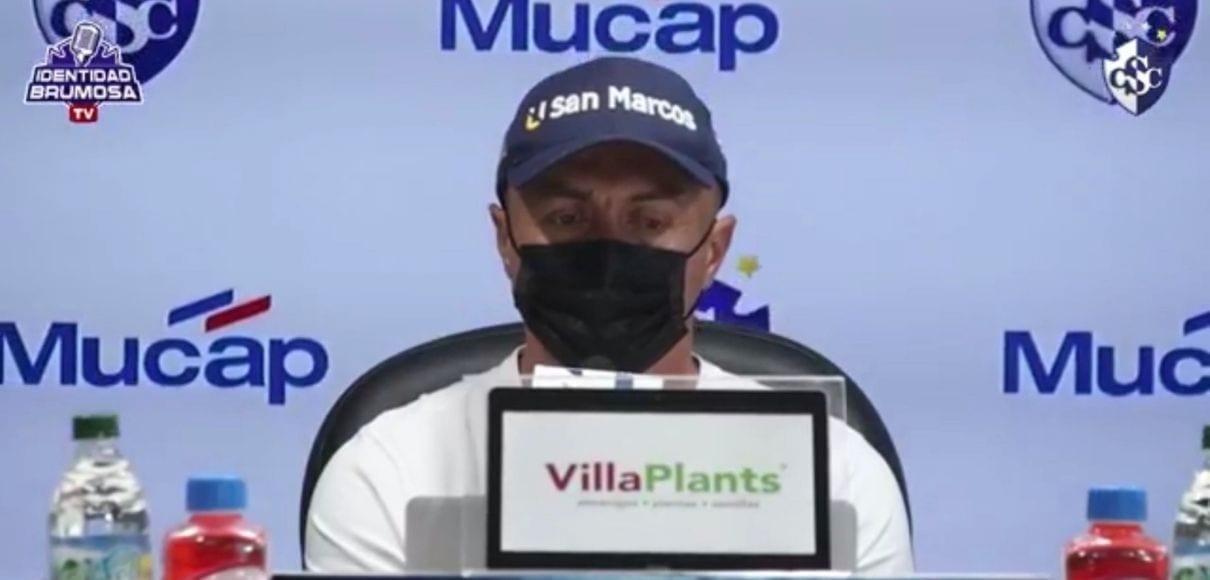 Fonseca recalcó que Geiner Segura tiene buena lectura de juego