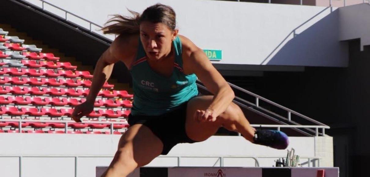 Andrea Vargas sigue preparándose para Tokio