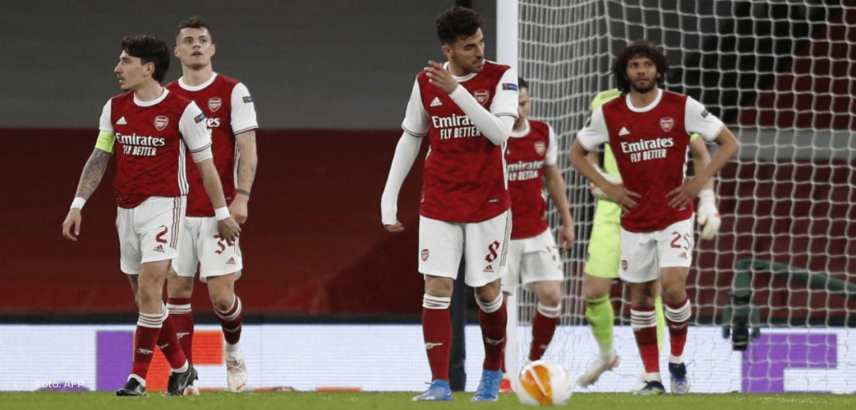 Arsenal dejó ir la victoria en casa ante el Slavia Praga