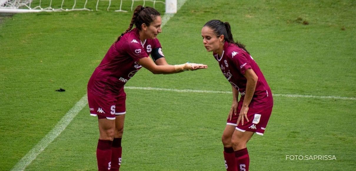 Saprissa goleó 5-0 a Dimas y es líder en Liga Promerica Femenina