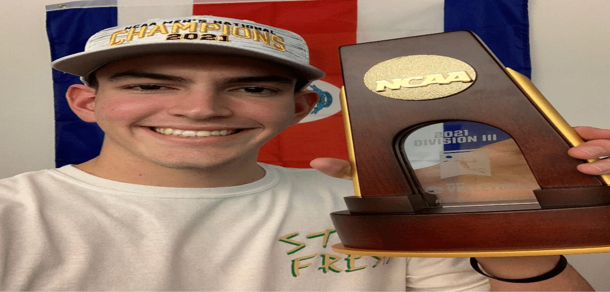 Tico campeón universitario de Voleibol en los Estados Unidos