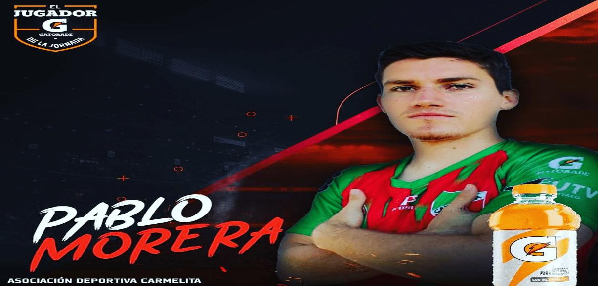 Doblete de Pablo Morera lo pone como jugador de la fecha en el Ascenso