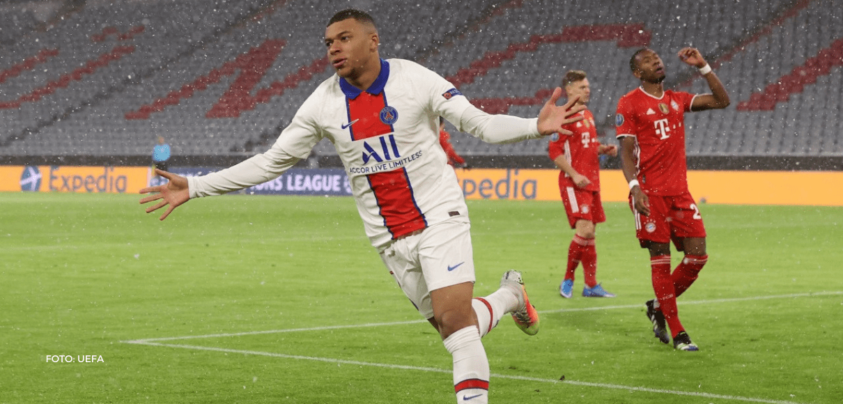 PSG le pegó al Bayern con Mbappé y Keylor como figuras