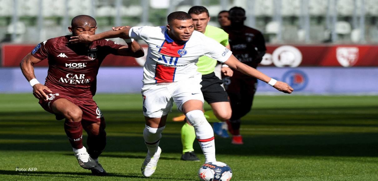 El París Saint-Germain es líder provisional tras vencer en Metz