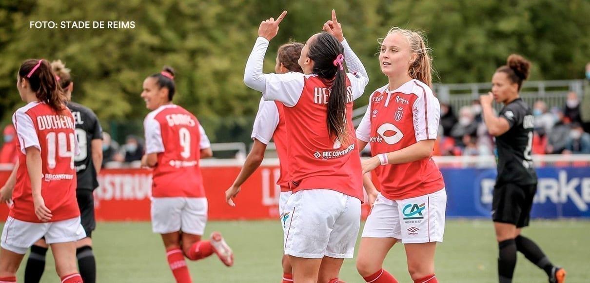 Melissa Herrera anhela goles y jugar Champions en el Bordeaux