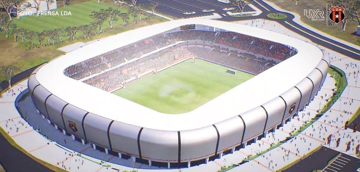 Nuevo estadio Alajuelense se construirá en Turrucares