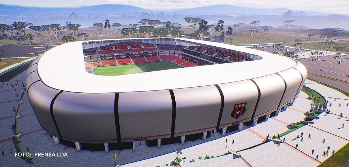 ¡Alajuelense presentó su nuevo estadio! Tendrá un costo de $30 millones