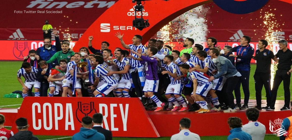 La Real gana el Derbi Vasco y es campeón de Copa del Rey 2020
