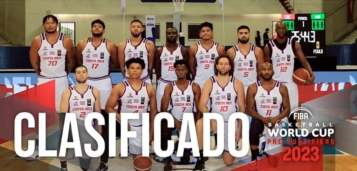 Costa Rica se acerca al mundial de baloncesto