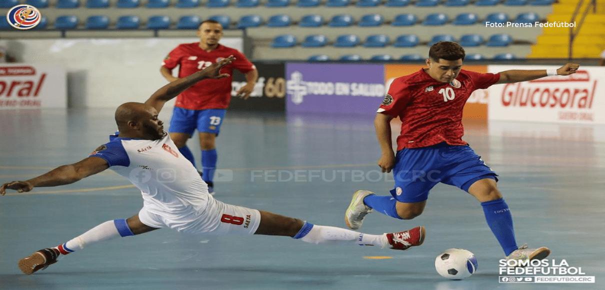 Costa Rica goleó 7-0 a Haití en el debut del Premundial de Fútsal (RESUMEN)