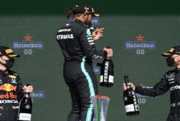 Hamilton (Mercedes) gana en Portugal su segunda carrera de tres esta temporada