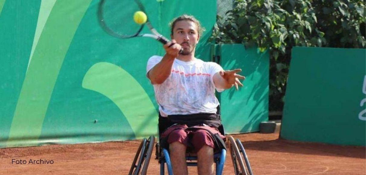 José Pablo Gil no pudo competir en la final de Dobles