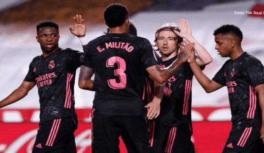 El Madrid hace la tarea en Los Cármenes y se aferra a la Liga