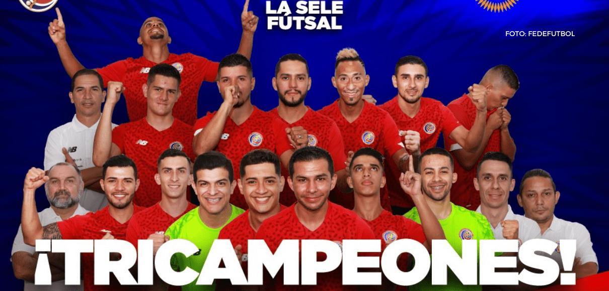 La Sele es tricampeón de Concacaf