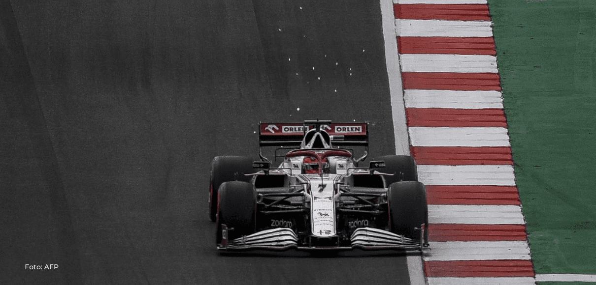 Alfa Romeo pide volver a examinar penalización contra Räikkönen en GP de Emilia-Romaña