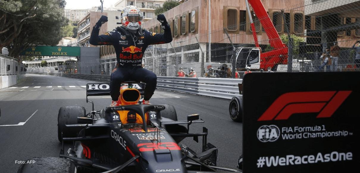 Verstappen gana delante de Sainz, nueva desilusión para Leclerc en Mónaco