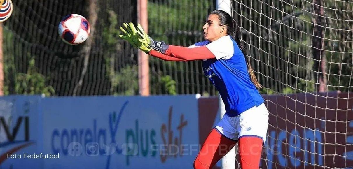 Daniela Solera se siente lista  para asumir la titularidad de La Sele