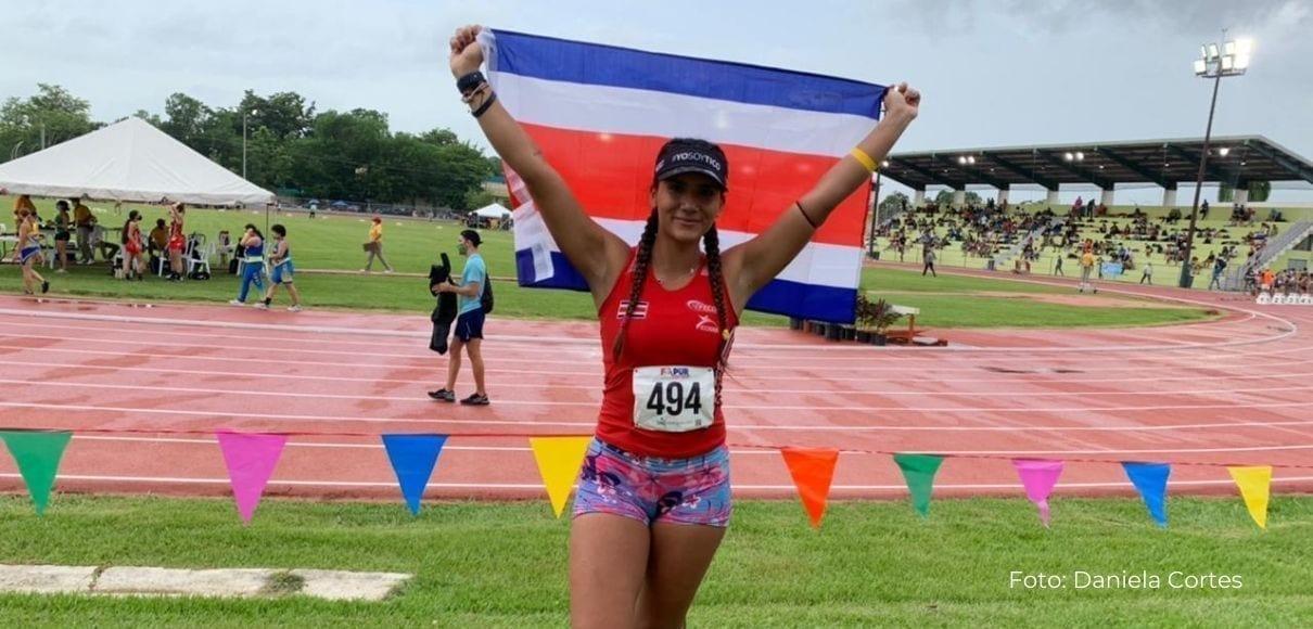 Daniela Cortés impone nuevo récord en Lanzamiento de Martillo