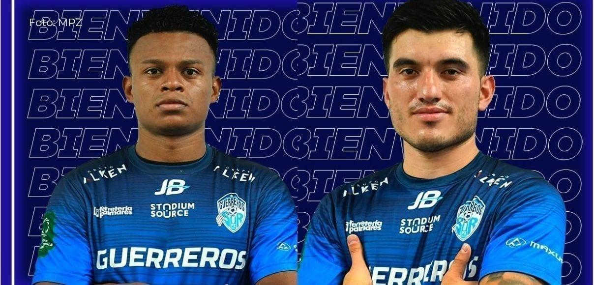 Greivin Méndez y Royner Badilla son nuevas fichas del Pérez Zeledón