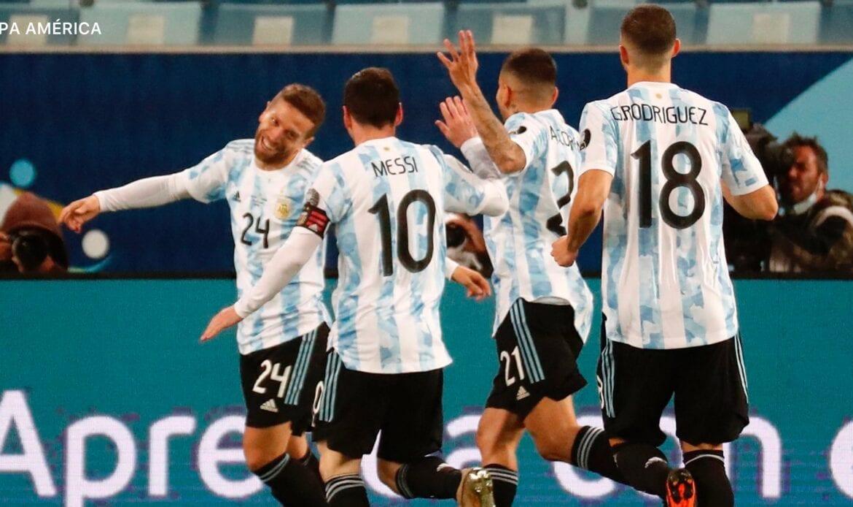 Argentina goleó a Bolivia en grandioso partido de Lionel Messi